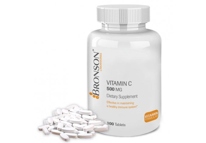Vitamin C 500 mg, 100 Tablets