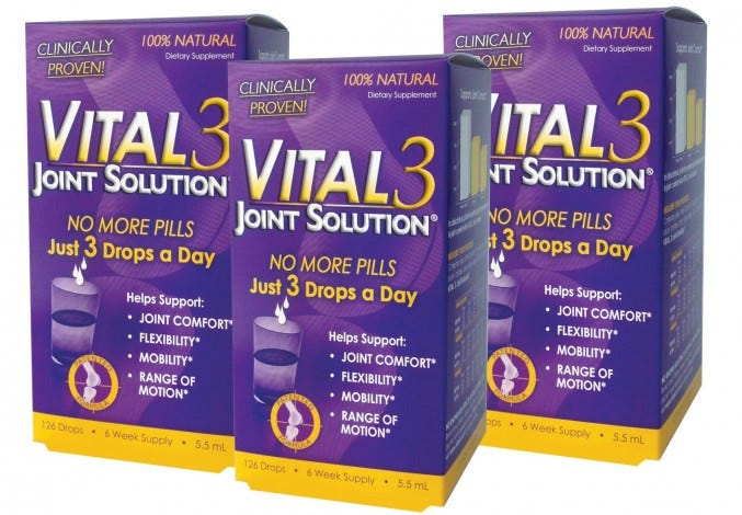 Vital 3 Joint Solution® 3 Bottles Kit