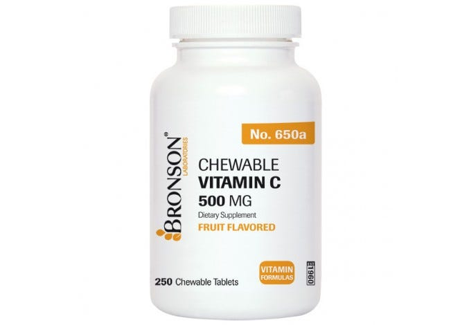 Chewable Vitamin C 500 mg