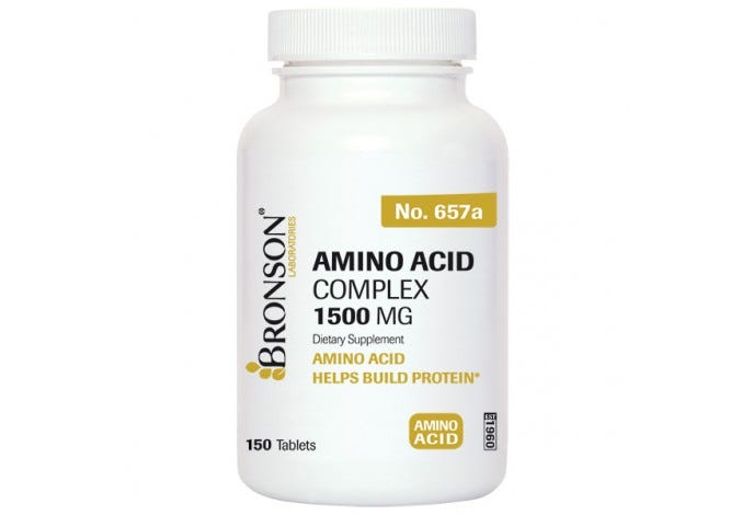 Amino Acid Complex 1500 Mg