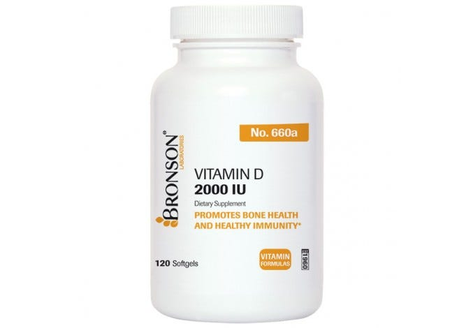 Vitamin D3 2000 IU, 120 Softgels