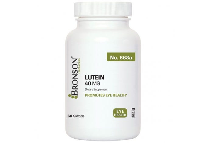 Lutein Softgels 40 mg