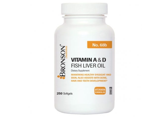 Vitamin A & D, 250 Softgels