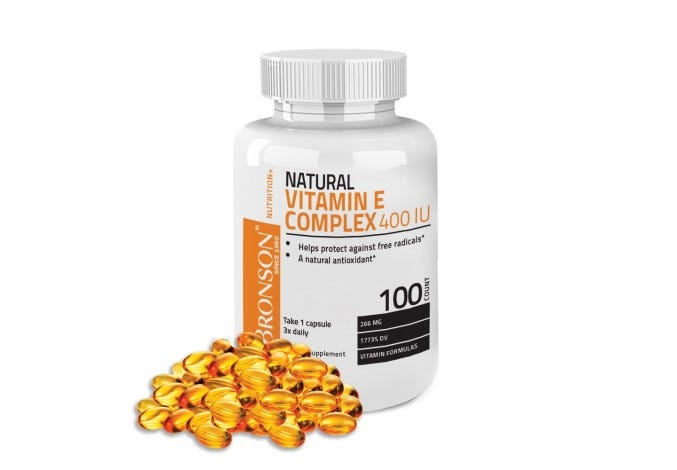 Natural Vitamin E Complex 400 IU, 100 Softgels