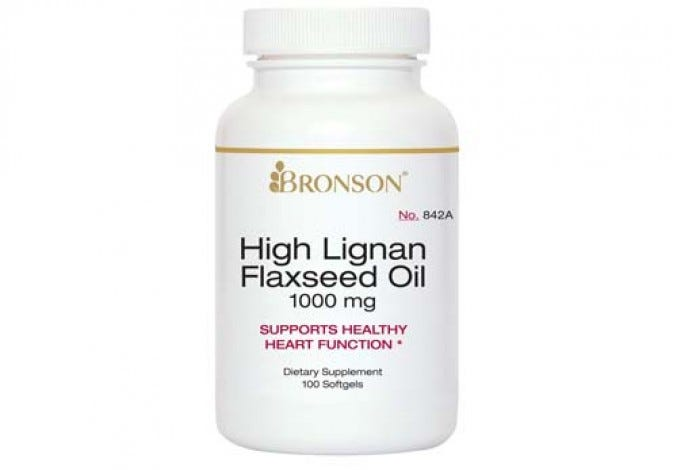 High Lignan Flaxseed Oil 100 Softgels