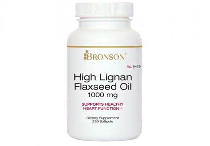 High Lignan Flaxseed Oil 250 Softgels