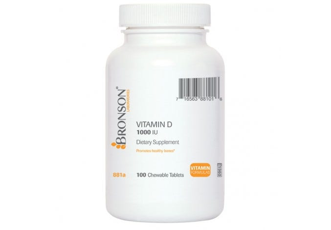 Chewable Vitamin D 1000 IU