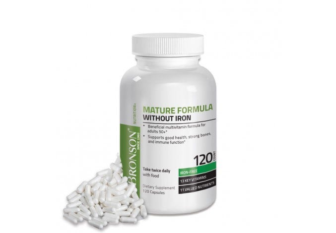 Mature Formula Without Iron