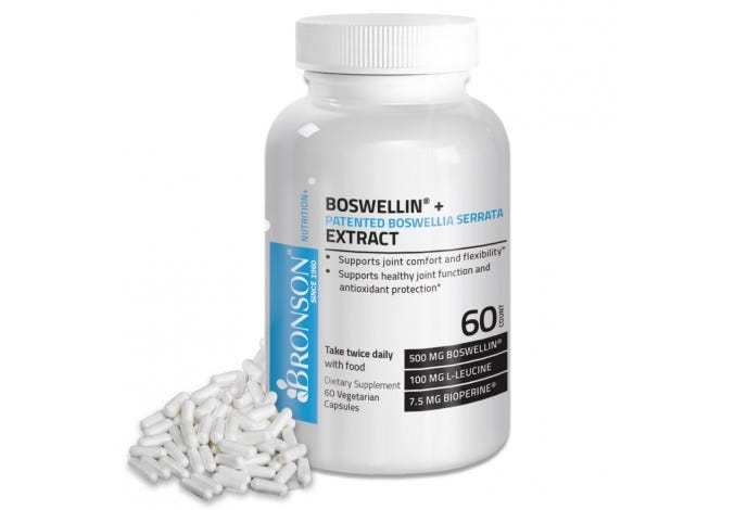 Boswellin® + Patented Boswellia Serrata Extract