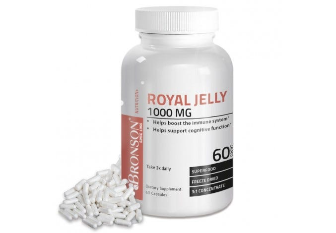 Royal Jelly 1000 mg, 60 Capsules