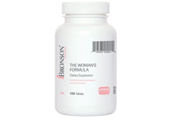 The Woman's Formula, 100 Tablets