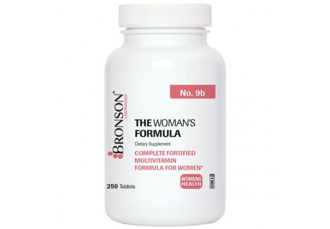 The Woman's Formula, 250 Tablets