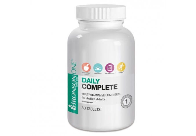Bronson ONE™ Adult Complete MultiVitamin MultiMineral