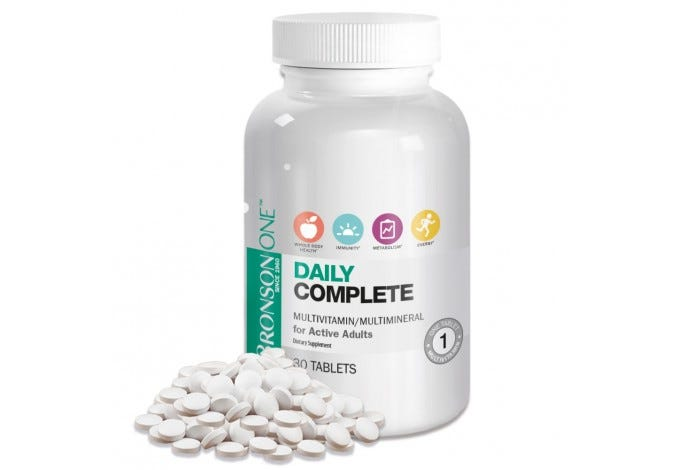 Bronson ONE™ Adult Complete MultiVitamin MultiMineral BOGO FREE
