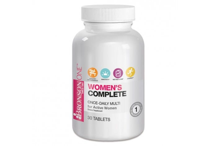 Bronson ONE™ Women's Complete MultiVitamin MultiMineral