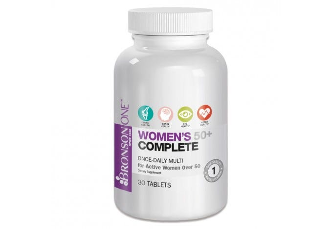 Bronson ONE™ Women's 50+ Complete MultiVitamin MultiMineral