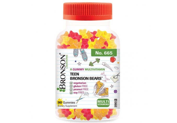 Teen Bronson Bears™ - A Gummy Multivitamin
