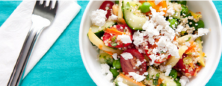 Spicy Quinoa and Bell Pepper Summer Salad